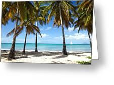 Window On The Caribbean II Greeting Card