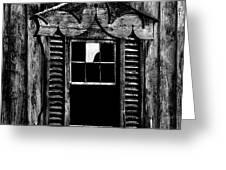 Window Pane Greeting Card