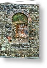 Window To A Bygone Heritage Greeting Card
