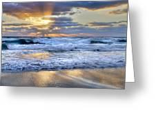 Window To Heaven Greeting Card