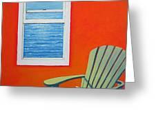Window To The Sea No. 1 - Seashell Greeting Card