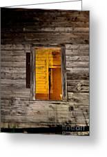 Window To The Soul II  Greeting Card
