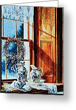 Window Treasures Greeting Card