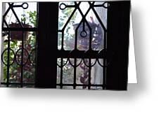 Window View 2 Greeting Card