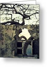 Window Greeting Card by Vishakha Bhagat