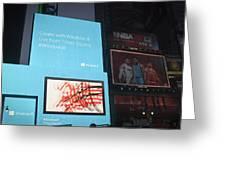 Windows 8 Greeting Card