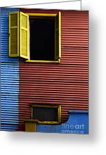 Windows And Doors Buenos Aires 16 Greeting Card