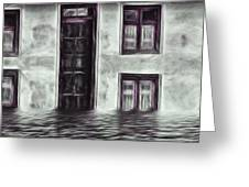 Windows And Doors Greeting Card