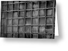 Windows Black And White 2 Greeting Card