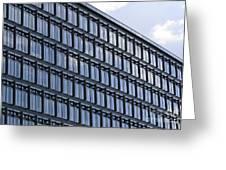 Windows In Copenhagen Greeting Card