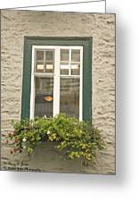 Windows Of Quebec 2 Greeting Card
