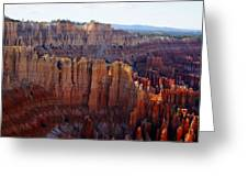 Windows Of Rock Greeting Card