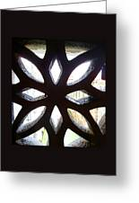 Windows Of Venice View From Doge Palace Greeting Card