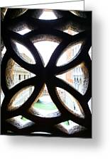 Windows Of Venice View From Palazzo Ducale Greeting Card