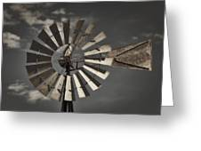 Winds Of Time Greeting Card