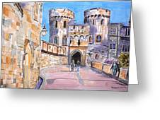 Windsor Castle Greeting Card