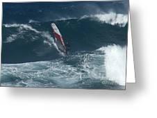 Windsurfer 2 Maui Greeting Card