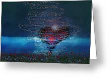 Windswept Love Greeting Card