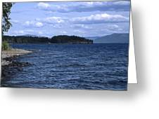 Windy Windemere Greeting Card