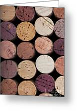 Wine Corks 1 Greeting Card by Jane Rix