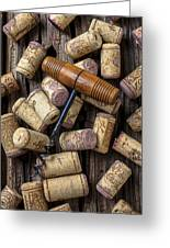 Wine Corks Celebration Greeting Card