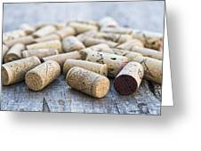 Wine Corks Greeting Card