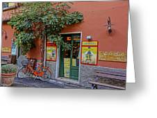 Wine Shop Monterosso Italy Dsc02584  Greeting Card