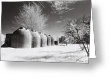 Wine Vats Rutherglen Greeting Card