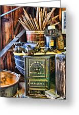 Winemaker - Time For A New Vintage Greeting Card by Lee Dos Santos