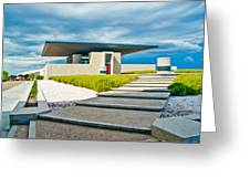 Winery Modernism Greeting Card