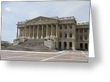 Wing Of The Capitol - Washington Dc  Greeting Card