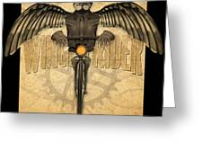 Winged Rider Greeting Card