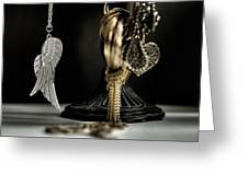 Wings Of Desire I Greeting Card