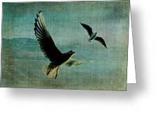 Wings Over The World Greeting Card