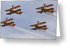 Wingwalkers  Perfect Sync Greeting Card
