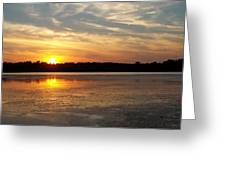 Winnecunnet Sunset Greeting Card