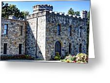 Winnekenni Castle Front View Greeting Card