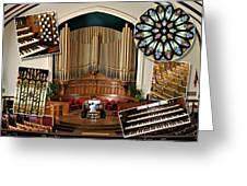 Winnipeg Church Montage Greeting Card