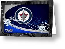 Winnipeg Jets Christmas Greeting Card