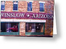 Winslow Arizona 2 Greeting Card