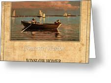 Winslow Homer 1 Greeting Card