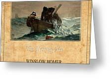 Winslow Homer 2 Greeting Card