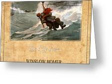 Winslow Homer 3 Greeting Card
