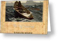 Winslow Homer 4 Greeting Card