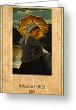 Winslow Homer 6 Greeting Card