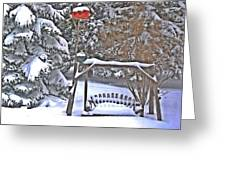 Winter 10 Greeting Card
