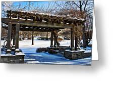 Winter Arbor Greeting Card