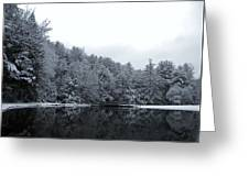 Winter At Clear Creek Greeting Card