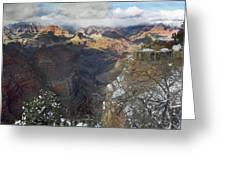 Winter At The Grand Canyon Greeting Card