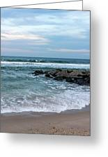 Winter Beach Lavallette New Jersey  Greeting Card